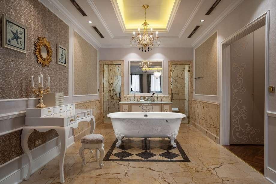 Thiết kế phòng tắm căn hộ Giusti Portos