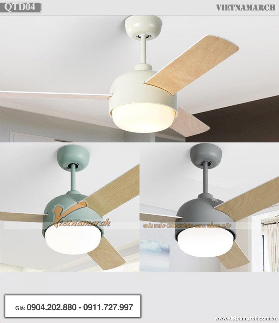 Quạt trần đèn 3 cánh