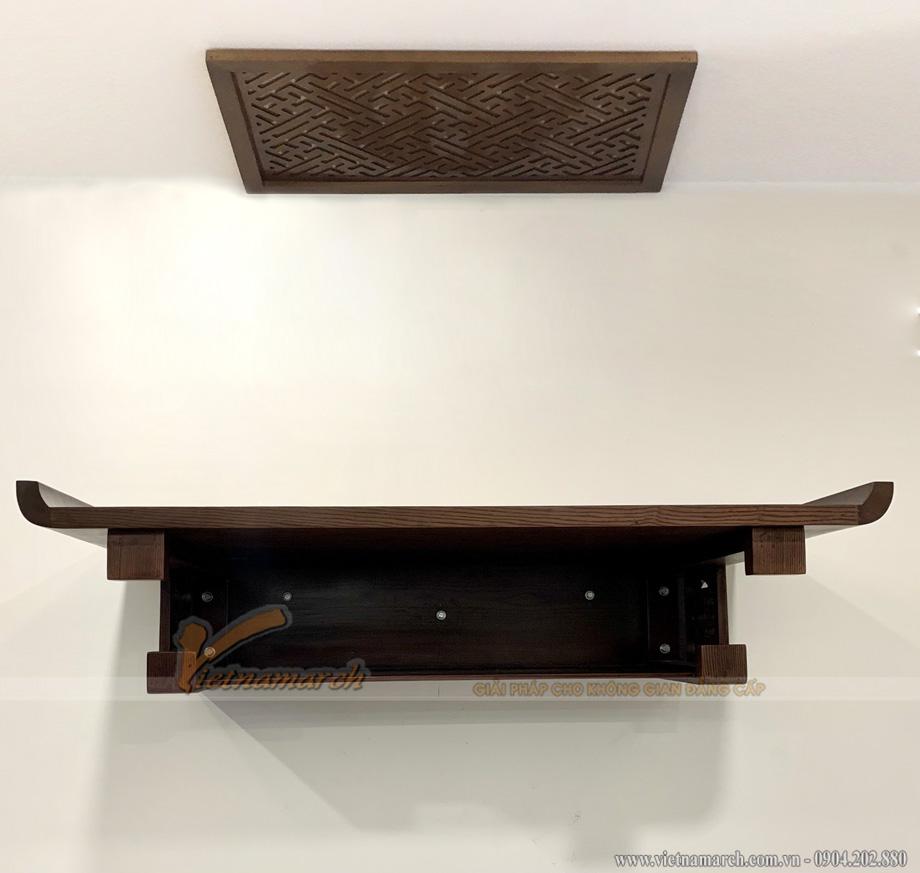 Lắp đặt mẫu bàn thờ kích thước lớn có an toàn hay không