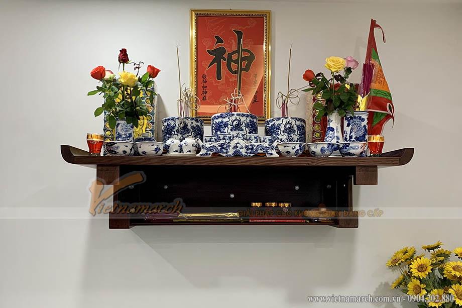 Lắp đặt bàn thờ cho nhà chung cư tại Chung cư Định Công Plaza - KĐT mới Đại Kim Định Công mở rộng