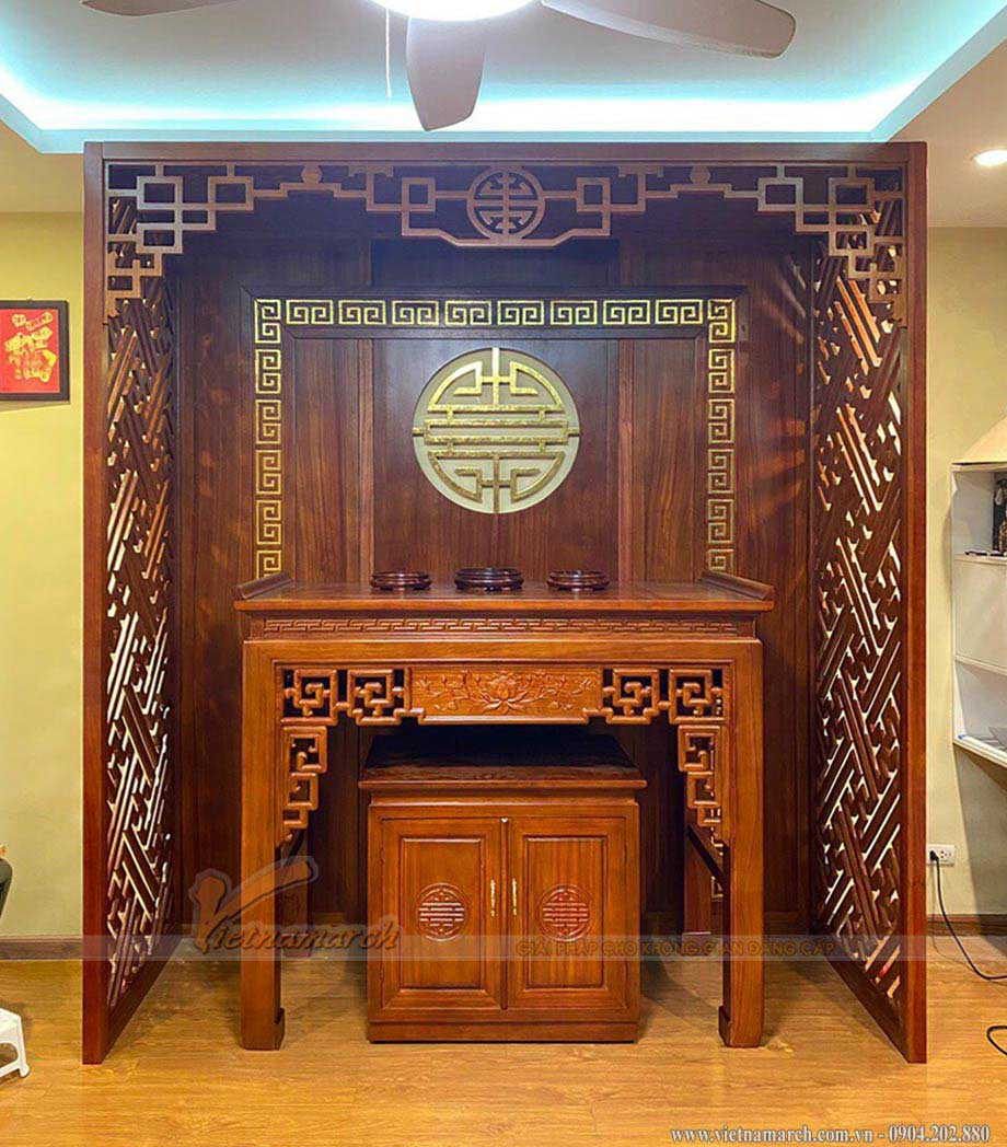 Mẫu án gian đẹp cho chủ nhà mệnh Kim – Nam sinh năm 1975, 1976, 1984, 1985, 1993, 1994