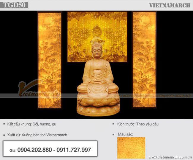 Mẫu tranh giấy dừa Bát Nhã Tâm Kinh đẹp, ý nghĩa cho Thờ Phật