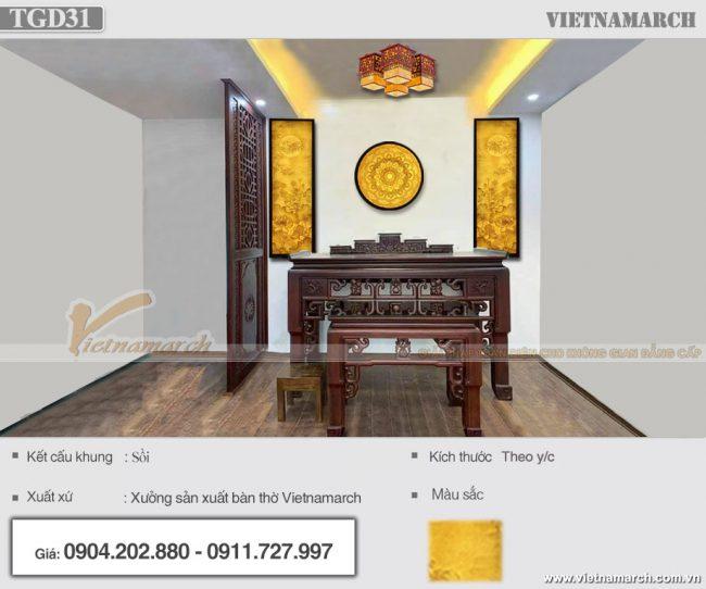 Lắp đặt bộ tranh giấy dừa sen trúc 125x41cm kèm tranh tròn tại 152 Võ Chí Công